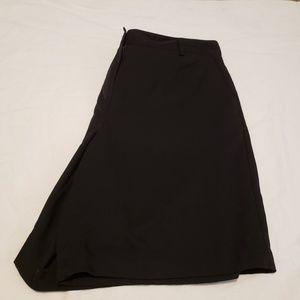 Talbots Petites sz 12 black shorts